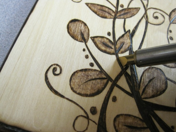 wood burning pen