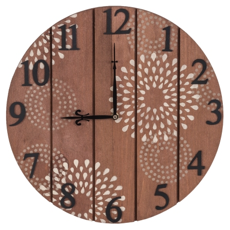 40173 Star Burst Clock
