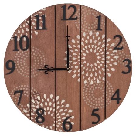40173 Star Burst Clock