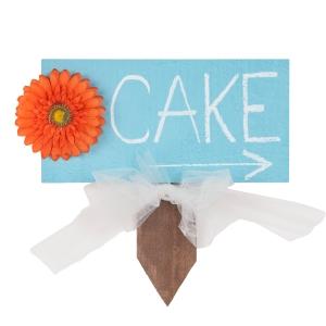 40188 Wedding Cake Sign