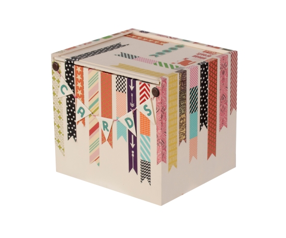 Washi Card Box