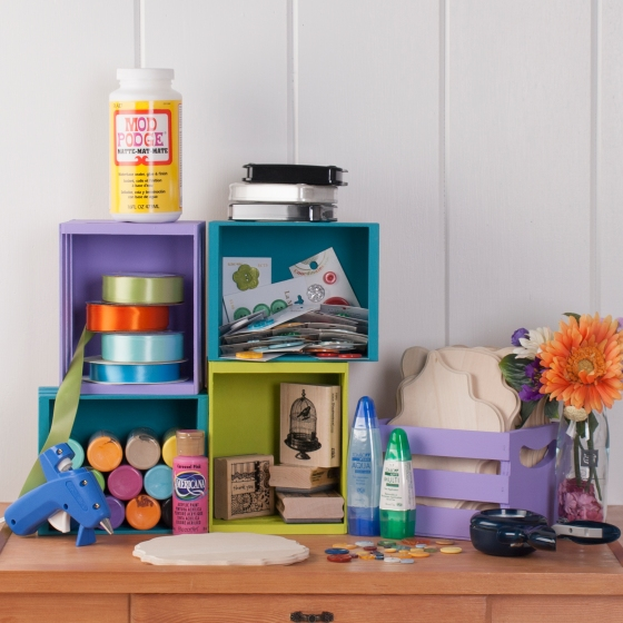 Mini Bin Craft Storage