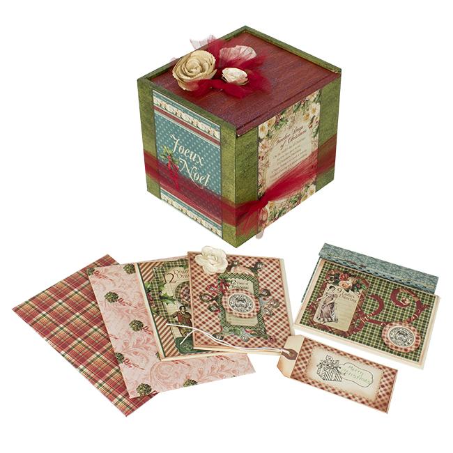 christmas card box walnuthollowcrafts