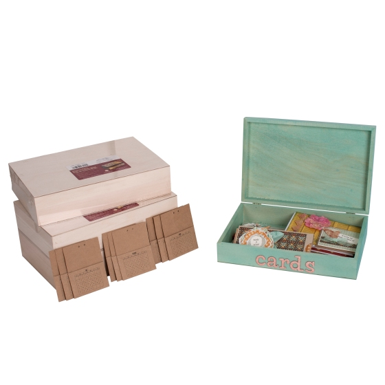 Month Card Box Open With Other Boxes