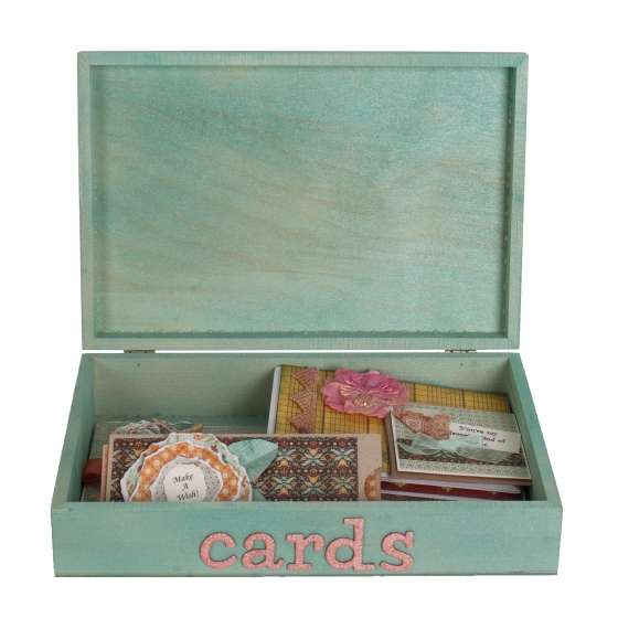 Month Card Box Open