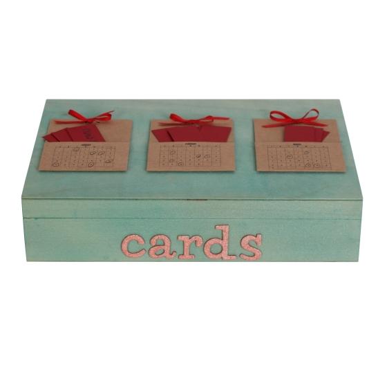 Month Card Box