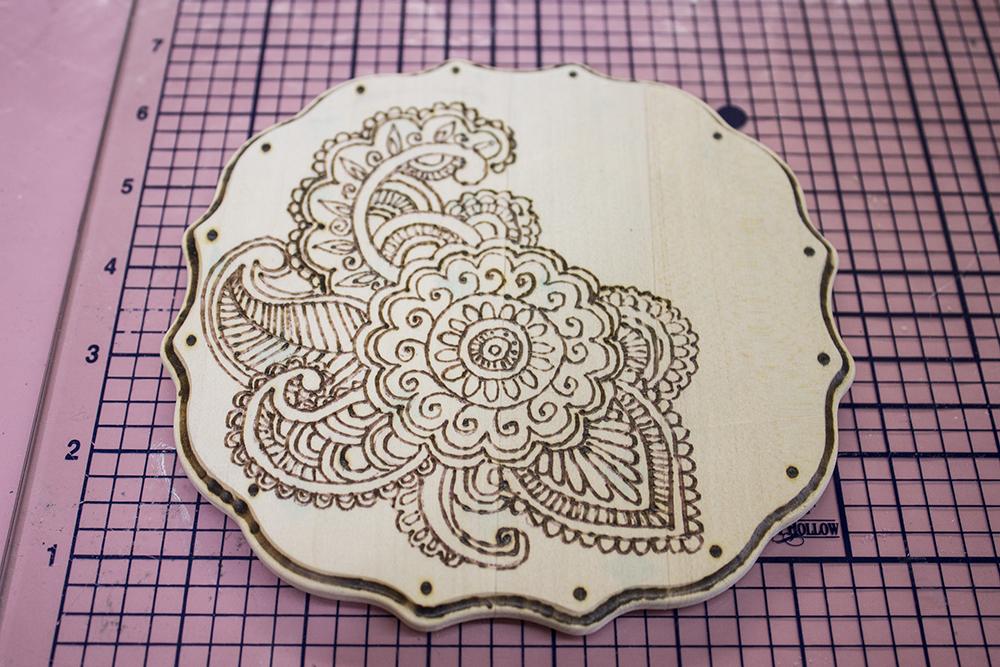 Walnut Hollow Crafts Wood Burning 6 Sanded Ink