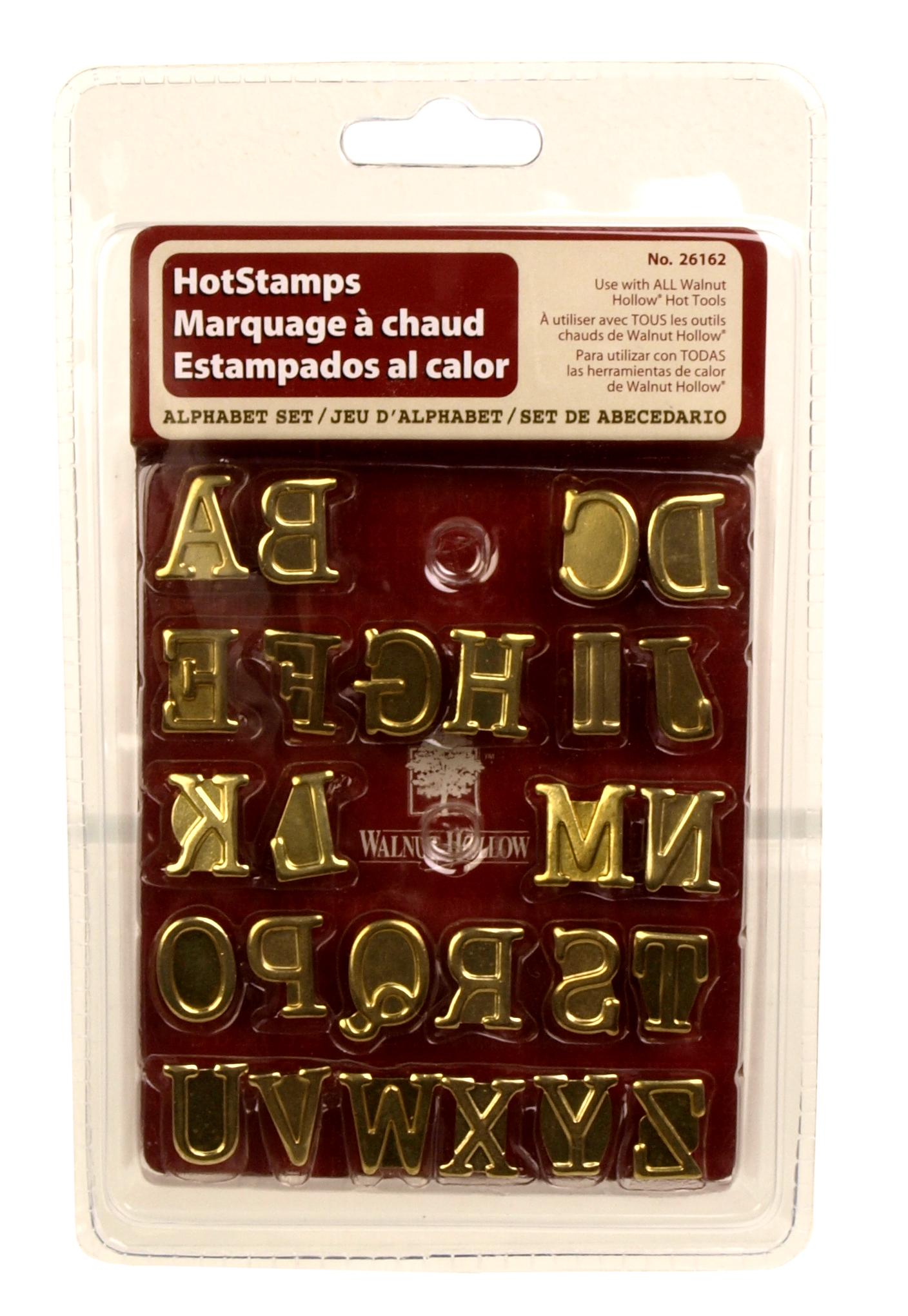 Alphabet Hot Stamps | walnuthollowcrafts
