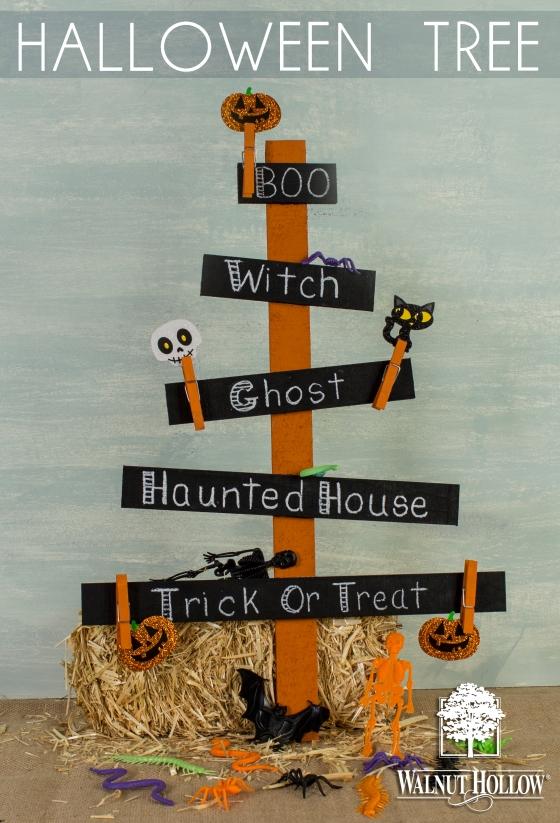 Walnut Hollow Crafts | Halloween Tree