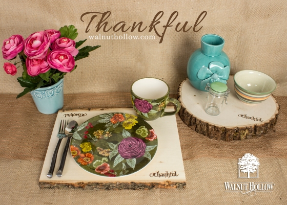 Walnut Hollow Crafts | Thankful Wood Burning