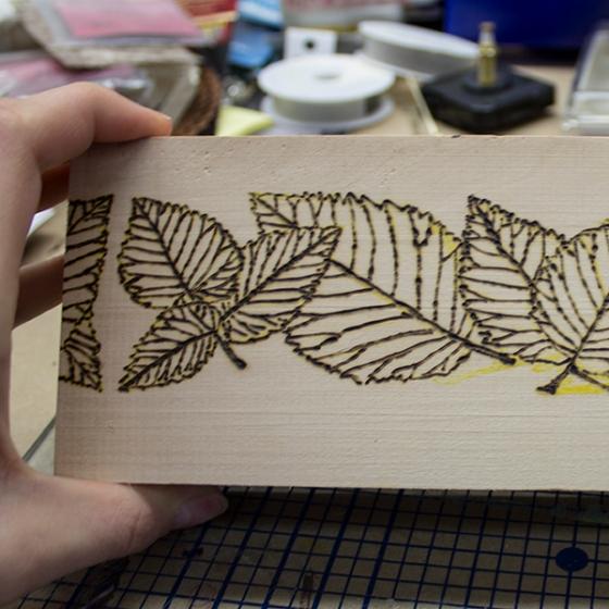 Walnut Hollow Crafts | Wodd Burning Over a Stamp