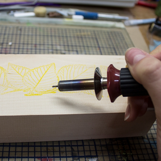 Walnut Hollow Crafts | Wood Burn Over the Ink