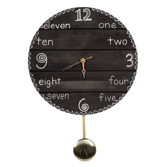 40173 Chalkboard Clock