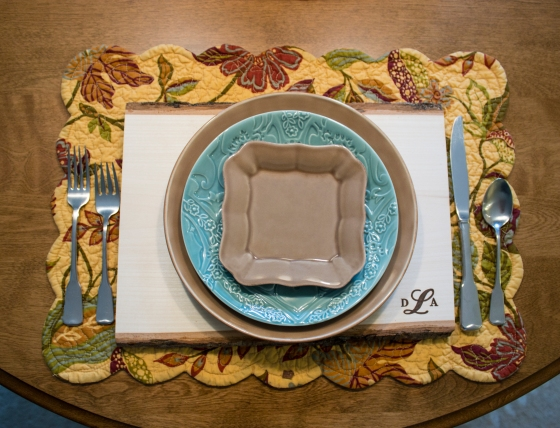 Monogram Table Setting 2