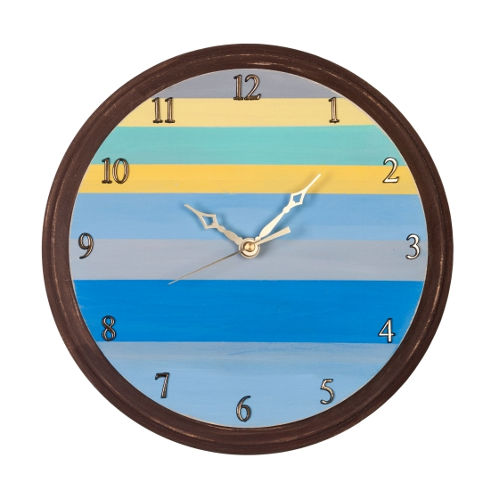 Striped Clock