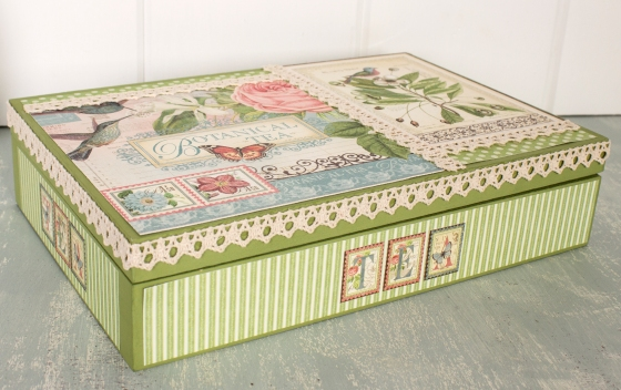 Handmade Tea Box