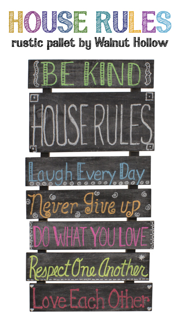 Krylon Chalkboard Paint Walnuthollowcrafts