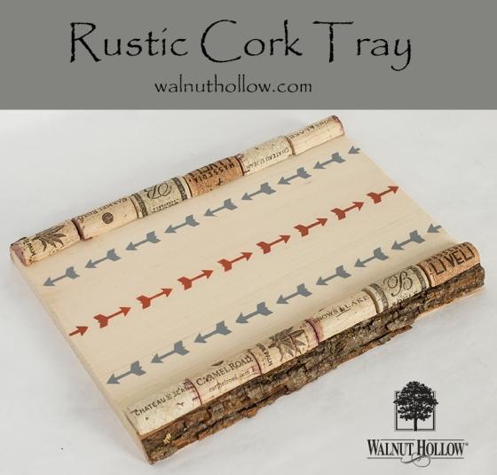 Cork Tray with logo