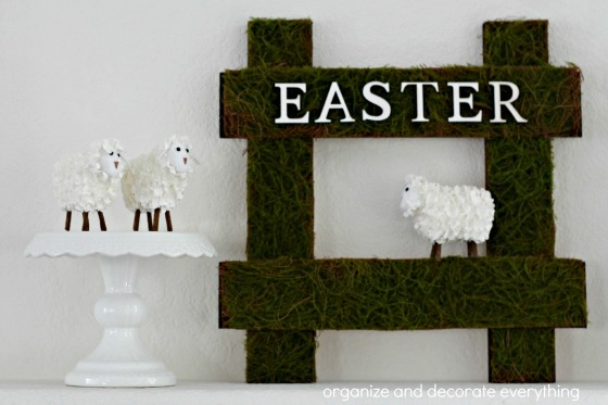 Sheep Easter Sign.1