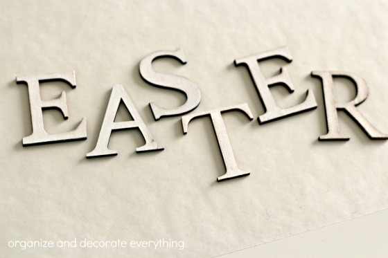 Sheep Easter Sign painted letters.1
