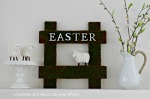 Sheep Easter Sign vignette.1