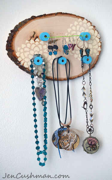 Jen Cushman Jewelry Holder