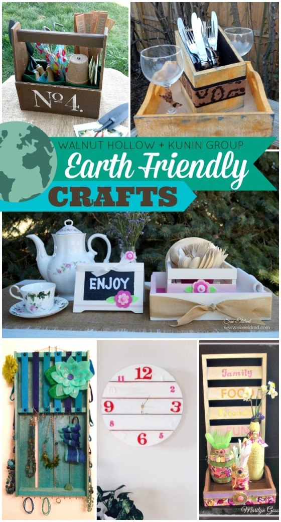 Walnut Hollow Kunin Group Earth Friendly Crafts