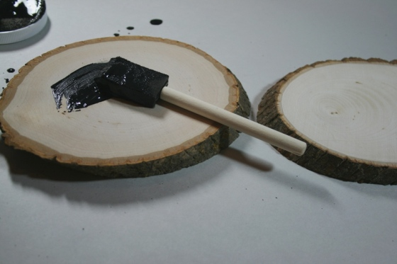 walnut hollow adding chalk paint