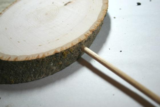 walnut hollow adding in dowel rod