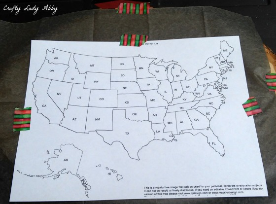 06-08-2015 FATHERS DAY WOOD BURNED USA ROAD TRIP MAP 6