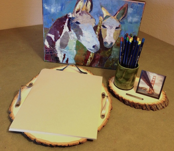 basswood country rounds desk set lisa fulmer