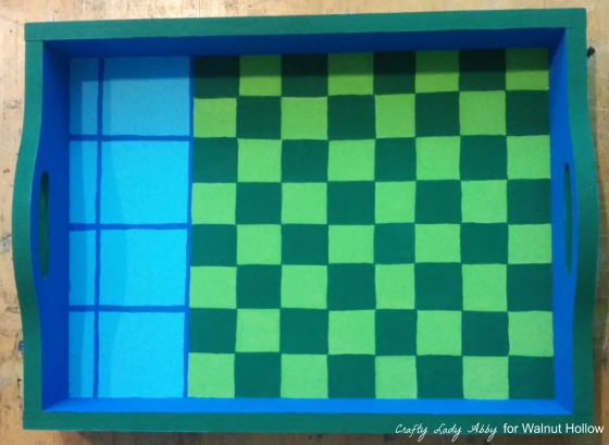 Chalkboard Checkerboard Game Tray and Pieces 4