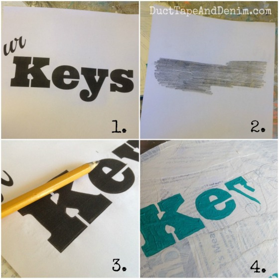 How to make a sign without a stencil