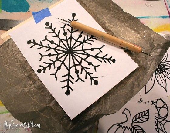 4 season wood burned tissue box from Walnut Hollow wood crafts • AtopSerenityHill.com #homedecor #woodburning #holidaydecorating