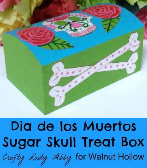 Sugar Skull Treat Box HEADER
