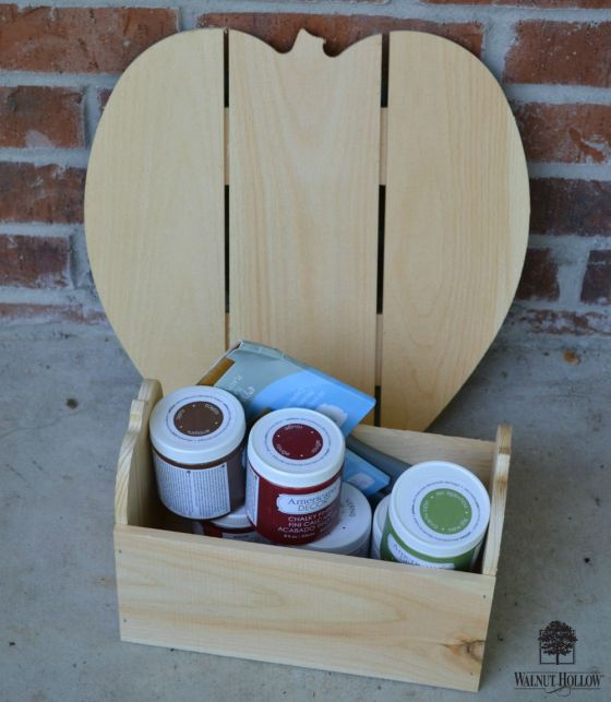 supplies for apple porch craft