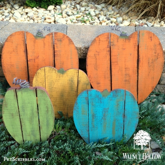Painted Pallet Pumpkin Patch
