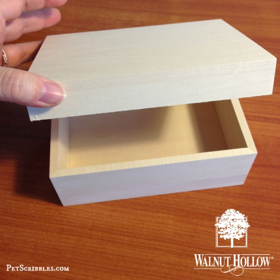 Walnut Hollow Basswood Classic Box