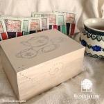 Walnut Hollow Tutorial wood burned tea box