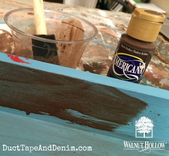 05 - Burnt Umber paint wash copy