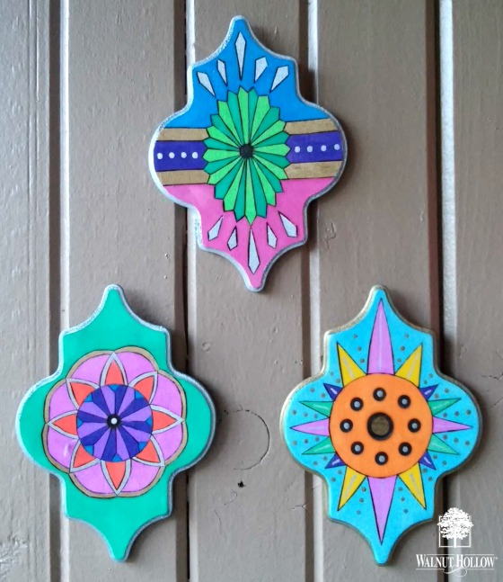 VINTAGE INSPIRED WOOD ORNAMENTS 9