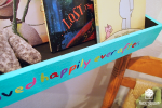 DIY Kid's Floating Book Shelf