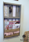 Wall Organizer Made with Belts