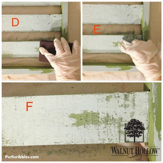 removing layers of paint