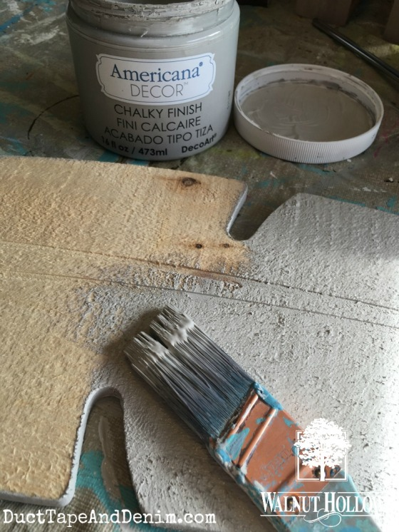 Painting the rustic feather