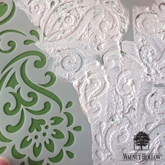 Stencil the Cake Stand