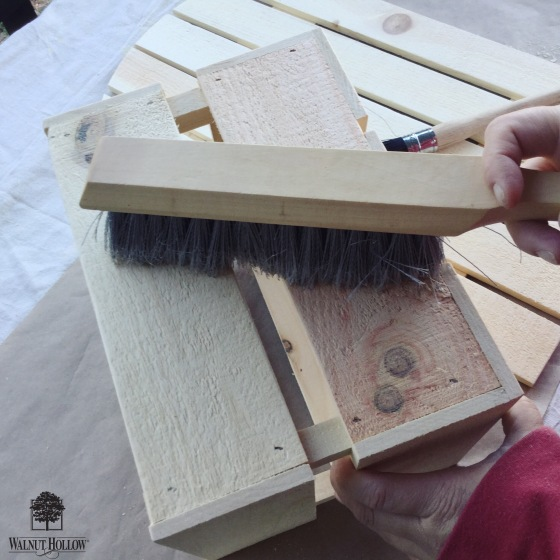 Walnut Hollow_DIY Rustic Card Box Brush