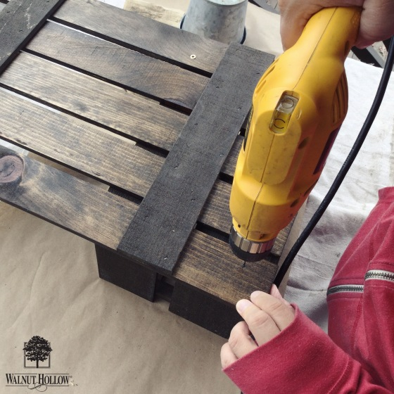 Walnut Hollow_DIY Rustic Card Box Drill