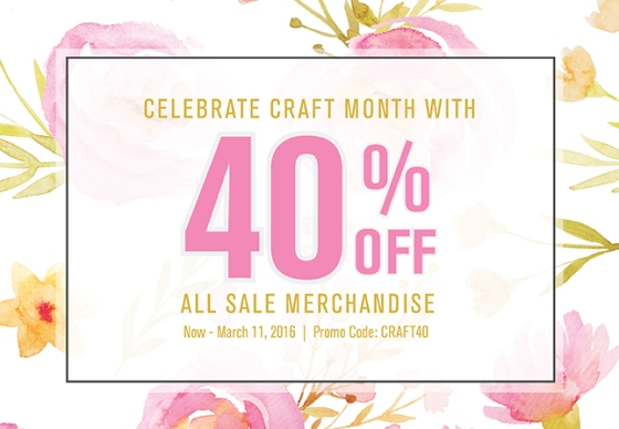 Craft_March40OffSale_BNR