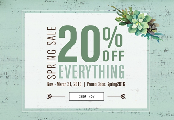 Craft_SpringSale20Off_BNR
